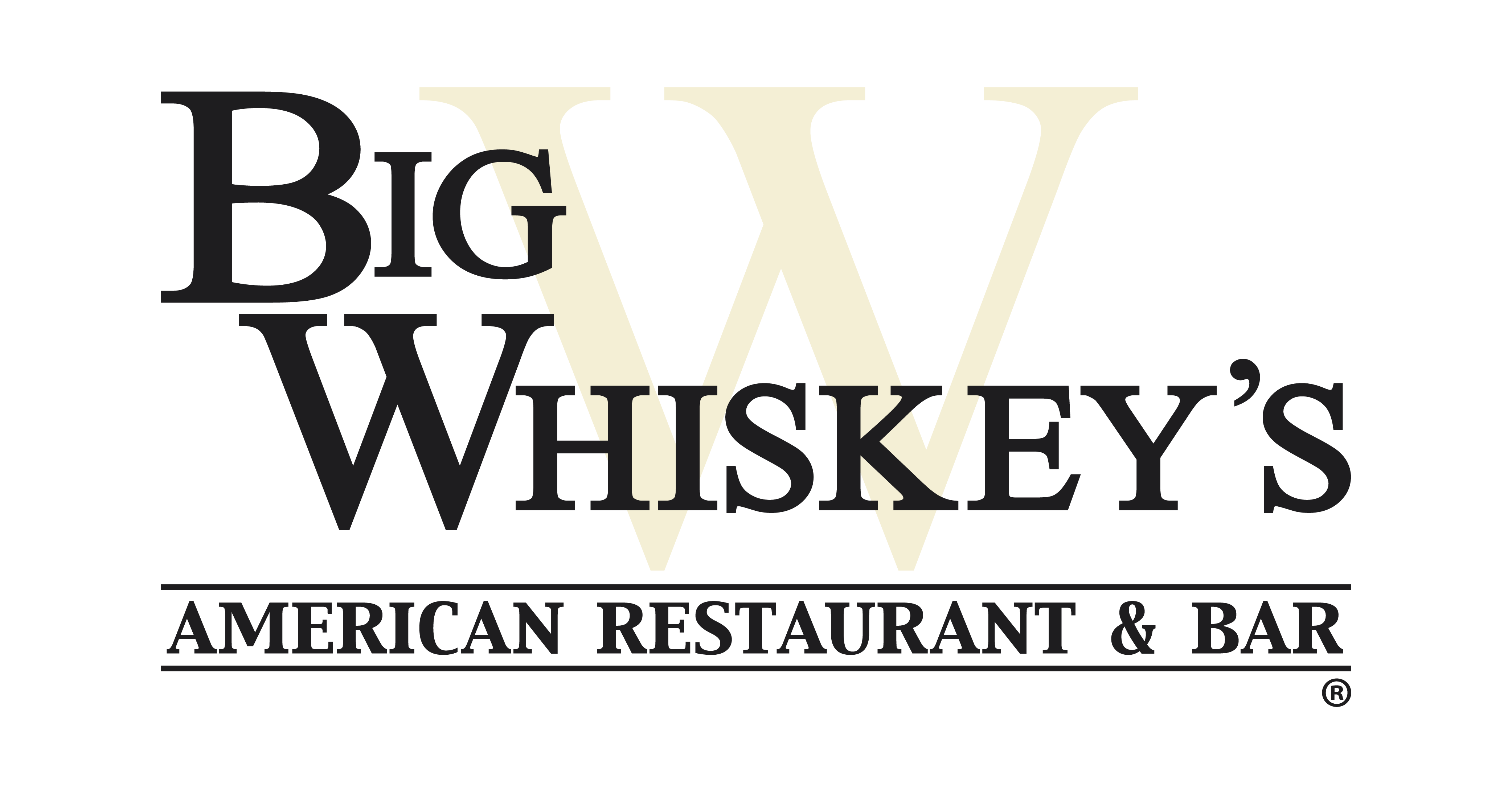 Big Whiskeys